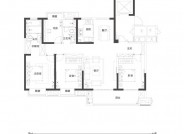 B1户型(建筑面积:146㎡ 4室2厅2卫)