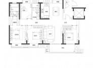 C1户型(建筑面积:146㎡ 4室2厅2卫)