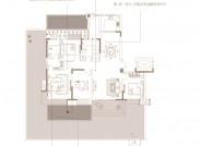 洋房 A户型一层(建筑面积:151.22㎡ 4室2厅2卫)