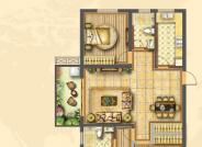 E户型3室2厅1厨2卫