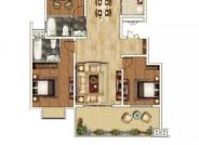 118-125㎡ 3室2厅1厨2卫