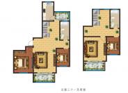 32F+跃层 四室两厅两卫
