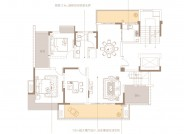 洋房 D户型复式一层(建筑面积:223.56㎡ 复式2卫)