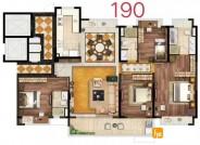 190平层大宅 4室2厅1厨3卫