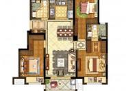 B户型【在售】(建筑面积:110㎡ 3室2厅2卫)