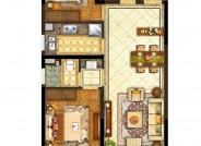 A2户型【在售】(建筑面积:96㎡ 3室2厅1卫)