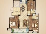 B2户型(建筑面积:118㎡ 3室2厅2卫)