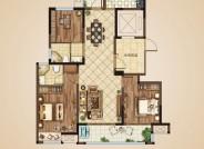 B1户型(建筑面积:118㎡ 3室2厅2卫)