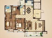 A户型(建筑面积:139㎡ 4室2厅2卫)